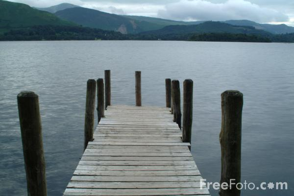 Derwent Water, Keswick, The Lake District, England